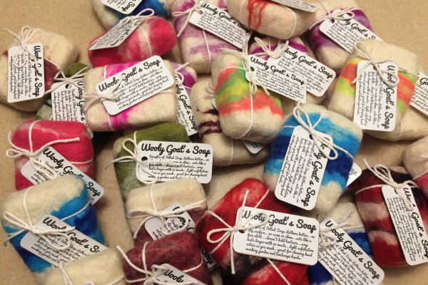 Easy Felted Soap