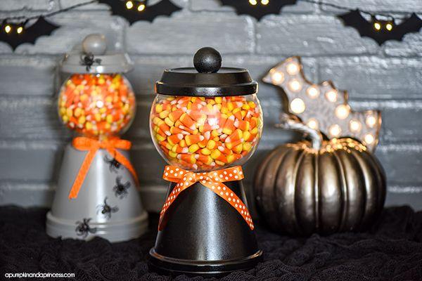The Perfect DIY Halloween Candy Jar!