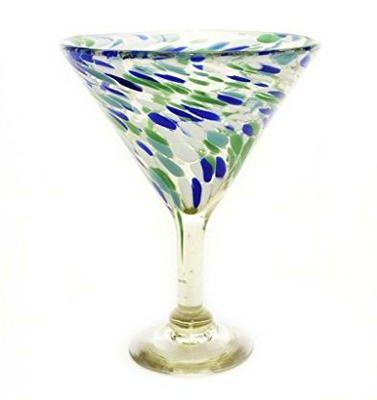 Confetti Coupe Cocktail Glasses