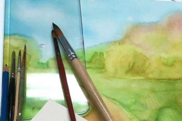 "Watercolor Workshop ""Mini Class"" on Zoom"