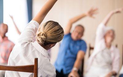 Chair Yoga & Meditation, Tuesdays & Thursdays