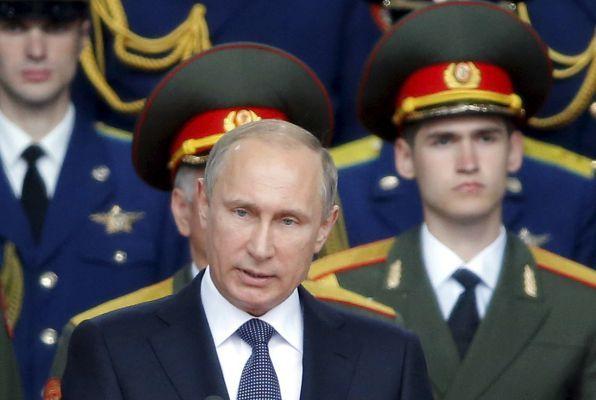 Vladimir Putin - via Zoom