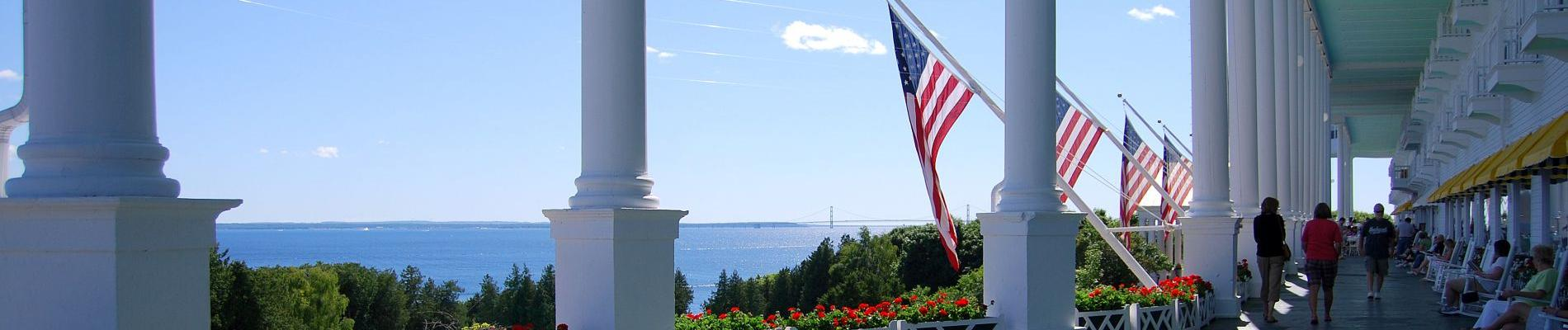 Grand Getaway- Mackinac Island's Grand Hotel