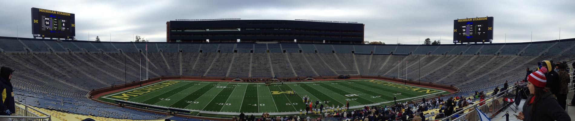 Ann Arbor Adventure: Welcome to the Big House