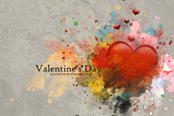 Paint Like a Pro - Valentine's Day Painting