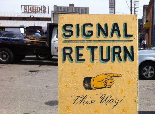 Signal Return Tour, Demo & Lunch