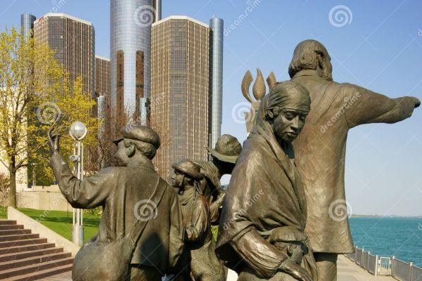 The Under Ground Railroad in Detroit