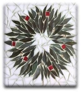 Evergreen Wreath Mosaic Class