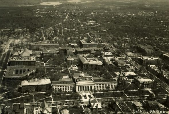 From Wildreness to the Heights-The Transformation of the University of Michigan
