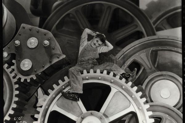 DIA Film Threatre - Charlie Chaplin's Modern Times