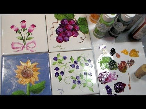 Painting on Tiles