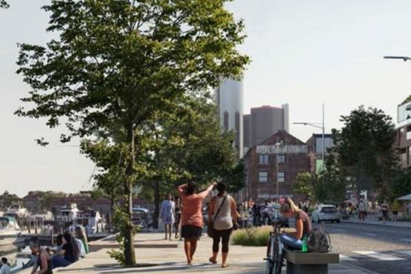 The Revitialization of Detroit's Riverfront