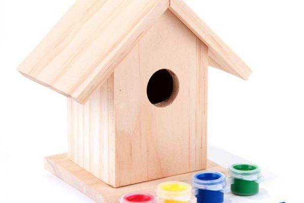 Paint a Charming Birdhouse