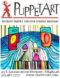 PuppetART at the Detroit Puppet Theatre- Lunch at Nomad Grill