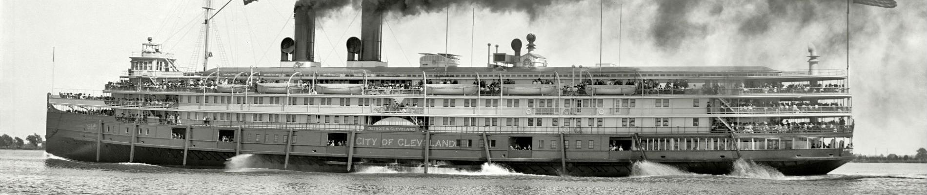 The Floating Palaces of the Great Lakes
