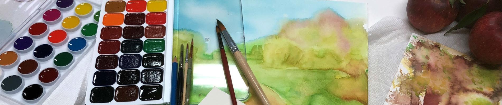 Creative Watercolor Class - New!