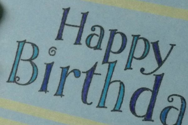 Handmade Birthday cards