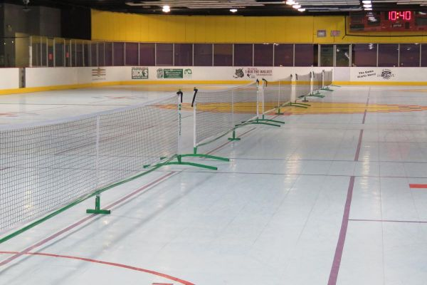 2019 Pickleball at the Birmingham Ice Rink