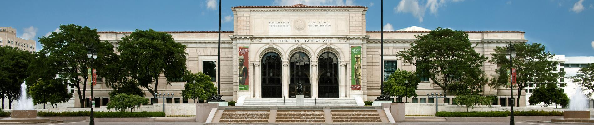 Detroit Institute of Arts A - Z Tour & Cafe DIA