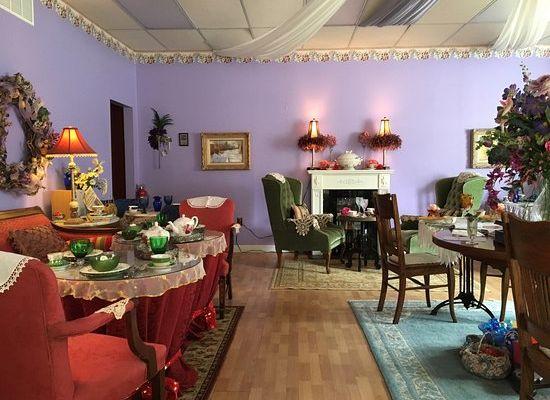 The Purple Door Tea Room